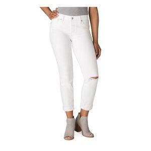 NWT White Womens Levi Signature Mid Calf Pants